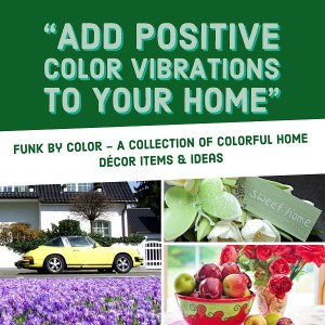 Funk by Color Adding Colorful Home Decor Pieces