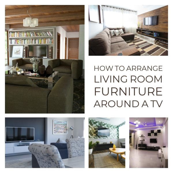 How to Arrange Living Room Furniture Around a TV