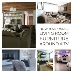 Living Room Furniture Arrangement Around A Tv Discount Packages How To Arrange With