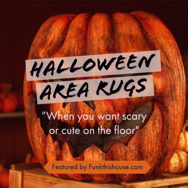 Fun Halloween Area Rugs