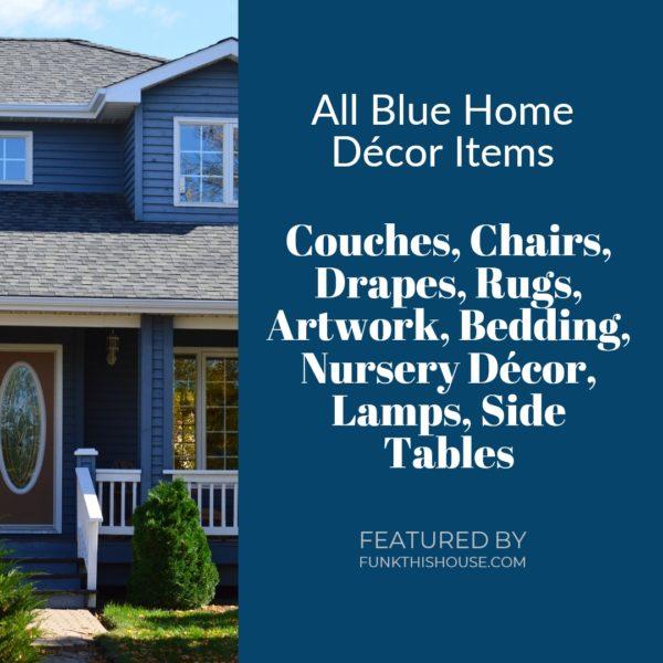 Blue Home Decor Items