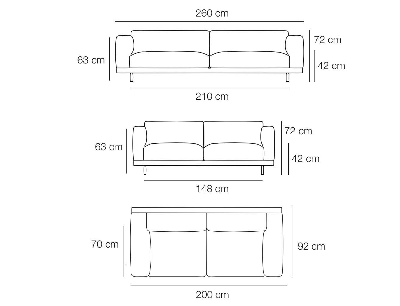 standard sofa sizes in mm la sofateria opiniones dimensions sofas memsaheb thesofa