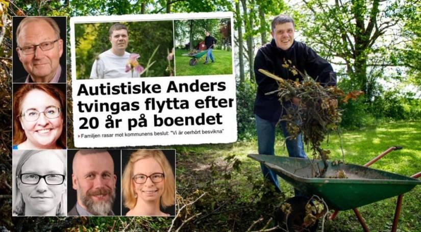 Bild på artikelförfattarna samt Anders