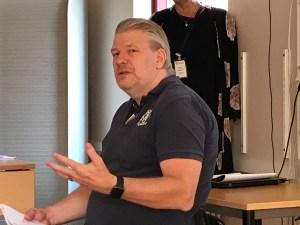 PeO Hedvall, docent Lunds Universitetet, var med och höll i en workshop om universell utformning.