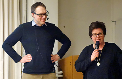 Mats Nilsson och Lena Ericsson.