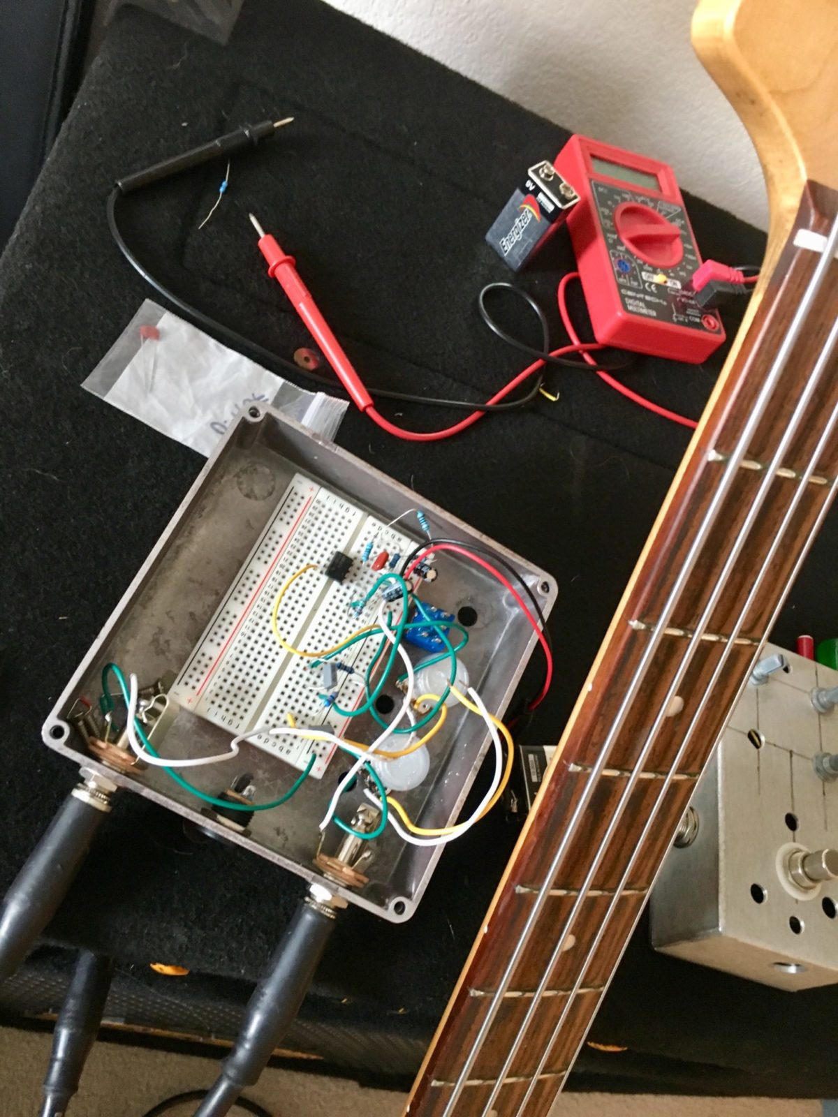 Funktronic Preamp Op Amp Inverting Buffer With Opamps Electrical Engineering Stack