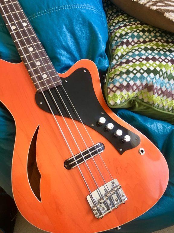 Sirena Modelo Uno in Transparent Orange
