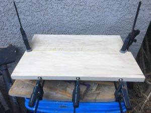 Gluing up a body blank