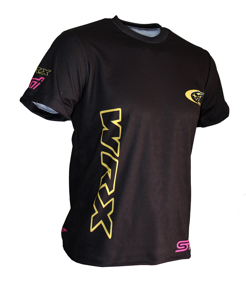 Subaru WRX tshirt with logo and allover printed picture  Tshirts with all kind of auto moto