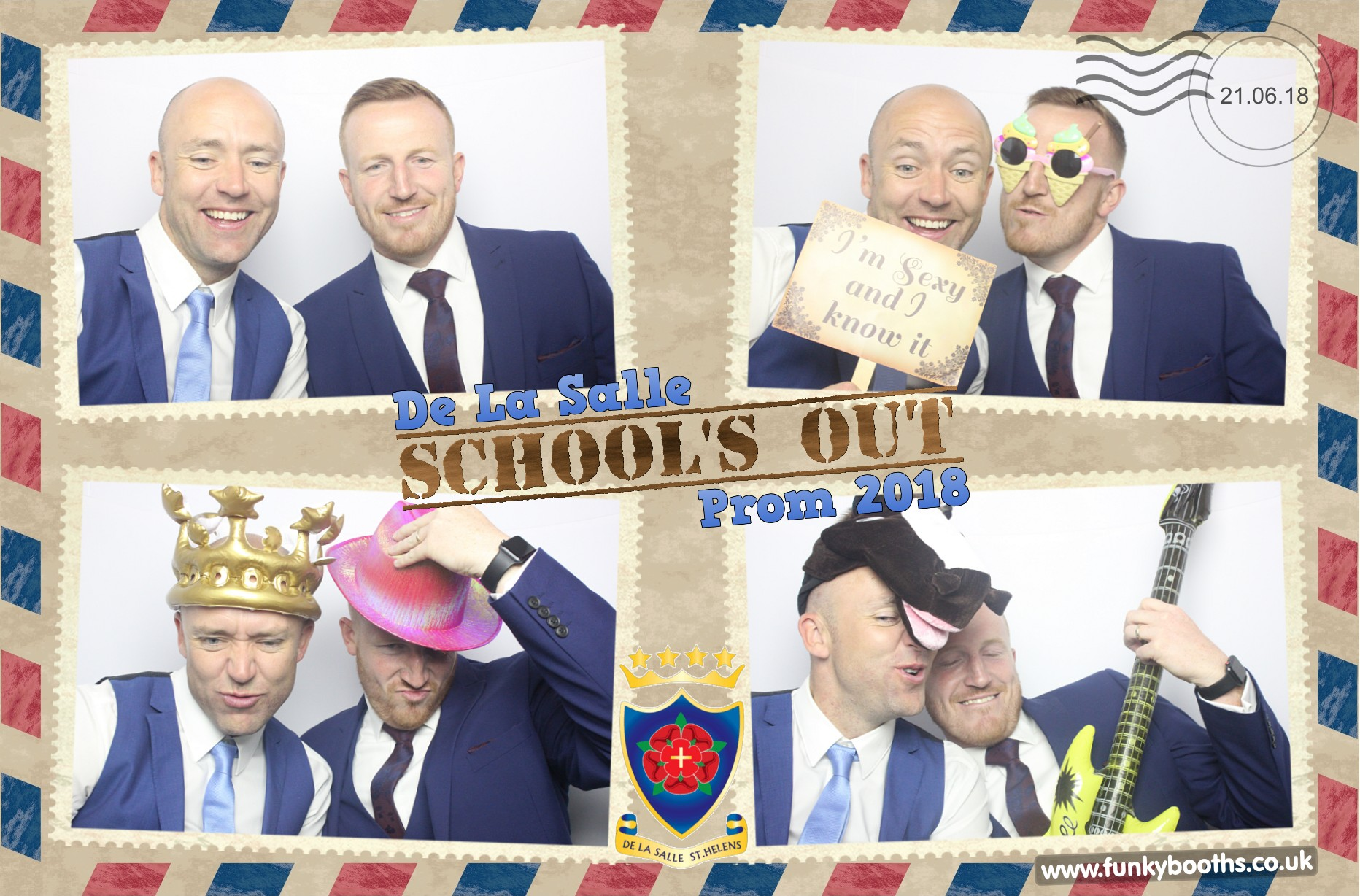 De La Salle High School Prom Photo Booth - FunkyBooths co uk