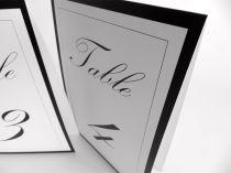 Tent table numbers Kunstler script