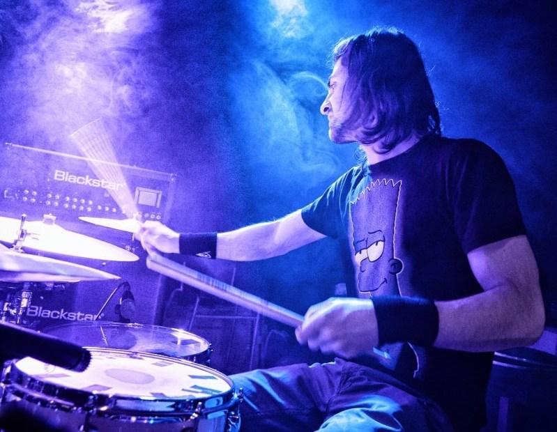 Honza Hooxx Sławiński, bubeník z kapely Funky Chicken