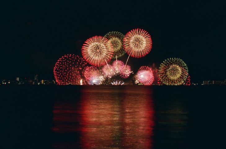 Fireworks by Mio Ito