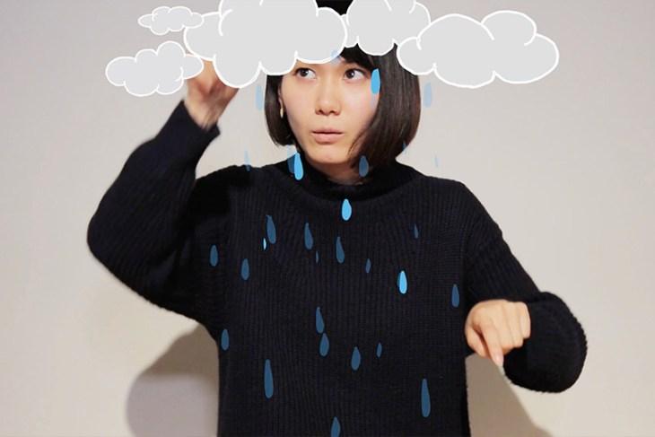 Artist Naomi Wada demonstrates her Visual Creole at 21_21 Design Site, Tokyo