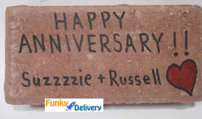 Happy Anniversary Brick