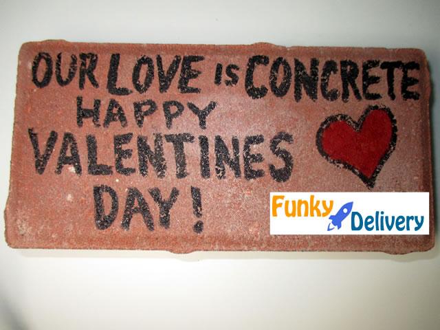 Happy Valentine's Day Brick