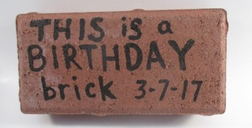 Mail a Brick -This is a Birthday Brick
