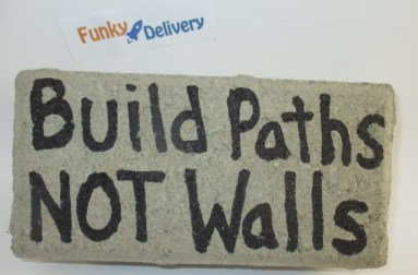 Send a Brick - Build Paths NOT Walls