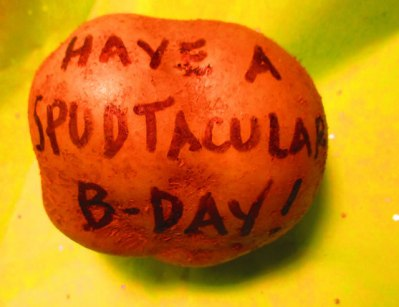 Have a Spudtacular Day - Mail a Potato