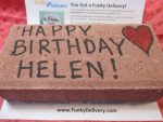 Happy Birthday Helen - Bday Brick