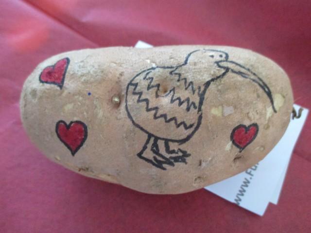 Send a Sweet Potato Gram - Kiwi Bird on a Sweet Potato