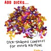 Add Dick Confetti for Sexy Fun