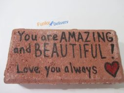 You are Amazing and Beautiful! Love you always - Brick Message