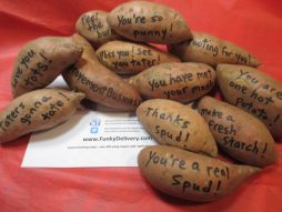 Sweet Potato Bouquet - Send Sweet Potato Messages