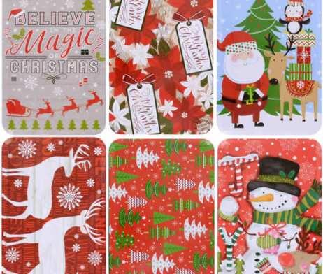 Christmas Candy Gift Tin