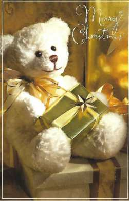Mery Christmas - Wishing You a Heart Full of Joy at Christmas Card