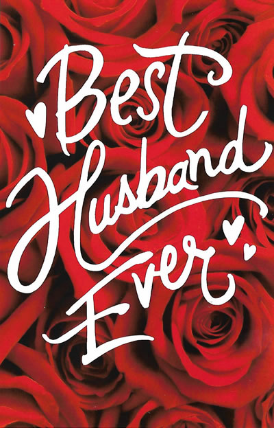 Best Husband Ever Valentine Card - Custom, Personalized Card