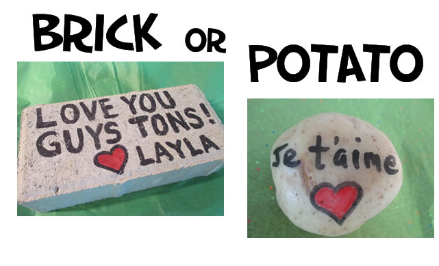 Brick or Potato - BrickorPotato.com