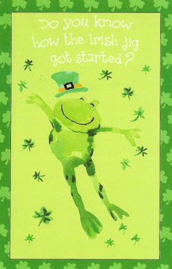 Do You Know How the Irish Jig Started - St. Patrick's Day Card