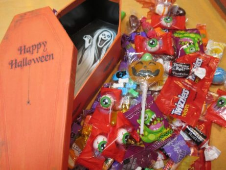 Halloween Gift Box - Ghost Coffin Candy Box