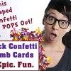 Dick Confetti Bomb Card