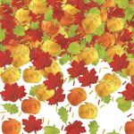 Thanksgiving Confetti for Card