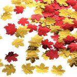 Autumn Leaf Confetti for Thanksgiving Card