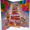 Happy Birthday Pop Up Card Inside View