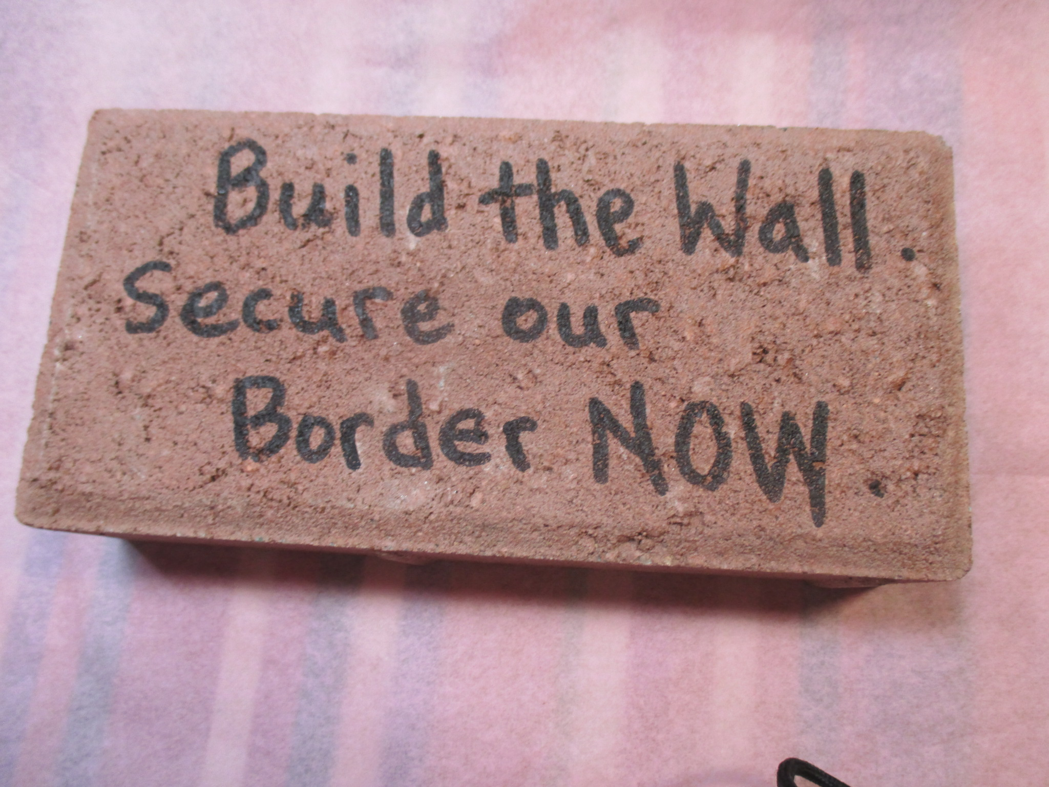 Send a Brick to Nancy and Chuck