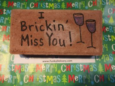 Miss You Brick - Funky Delivery Brick