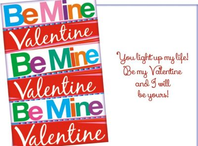 You Light Up My Life Valentine's Day Card