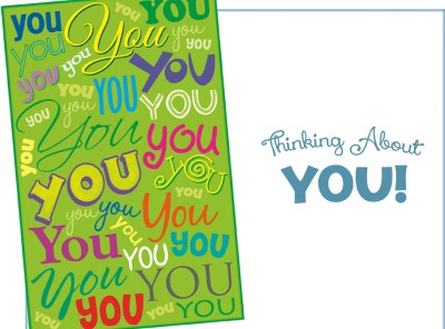 You You You - Thinking About You - Greeting Card Sent for You