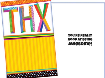THX - Thank You Card