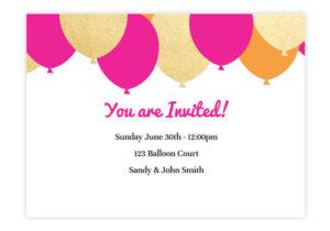 Party Invitation Video