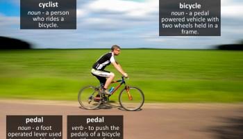 bicycle vocabulary