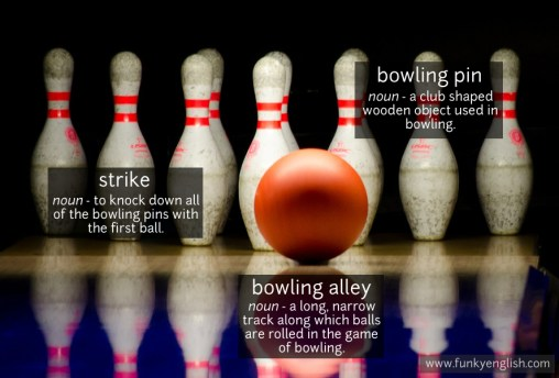 bowling vocabulary
