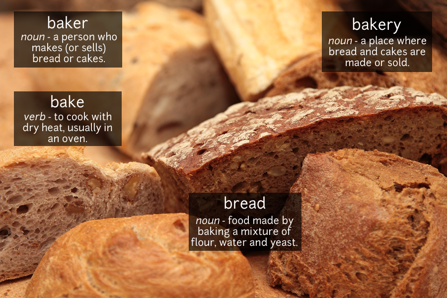 bread vocabulary