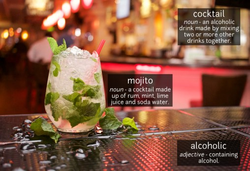 cocktail vocabulary