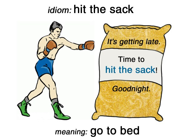 hit the sack idiom