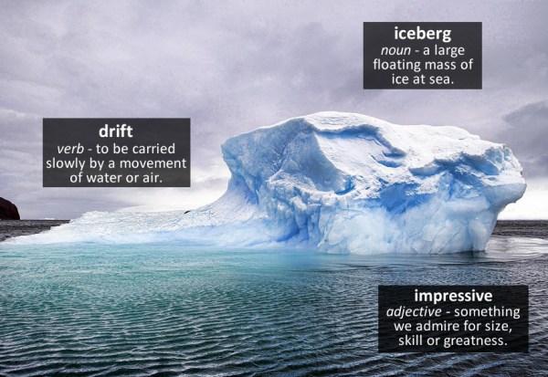 iceberg vocabulary